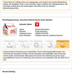 Vodafone Status